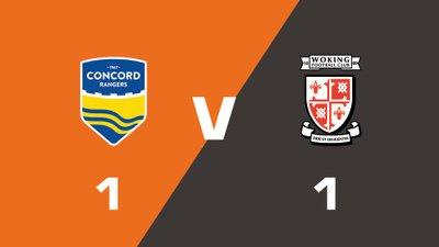 Highlights: Concord Rangers vs Woking