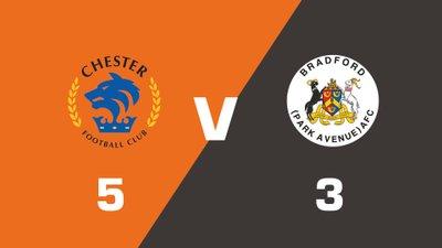 Highlights: Chester vs Bradford Park Avenue