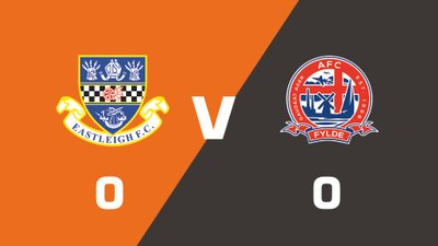 Highlights: Eastleigh vs AFC Fylde