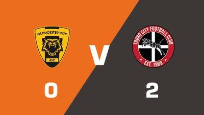 Highlights: Gloucester City vs Truro City