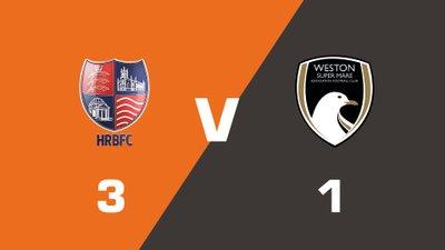 Highlights: Hampton & Richmond Borough vs Weston-super-Mare AFC