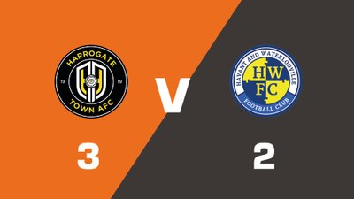 Highlights: Harrogate Town vs Havant & Waterlooville