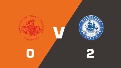 Highlights: Hemel Hempstead Town vs Billericay Town