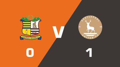 Highlights: Solihull Moors vs Hartlepool United