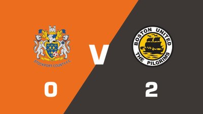 Highlights: Stockport County vs Boston United