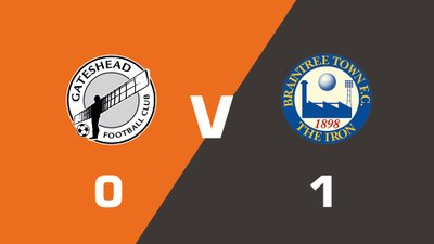Highlights: Gateshead vs Braintree Town
