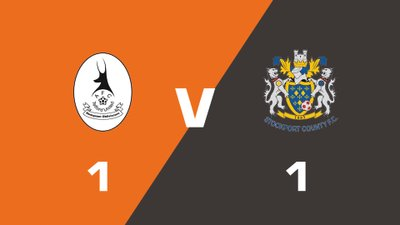 Highlights: AFC Telford United vs Stockport County