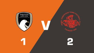 Highlights: Weston-super-Mare AFC vs Hemel Hempstead Town