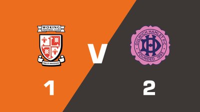 Highlights: Woking vs Dulwich Hamlet
