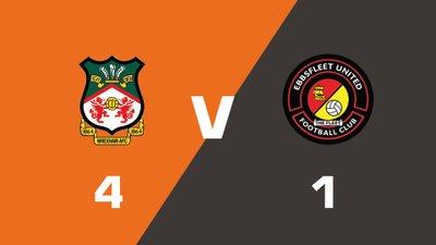 Highlights: Wrexham vs Ebbsfleet United