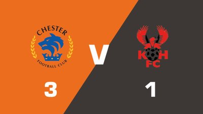 Highlights: Chester vs Kidderminster Harriers