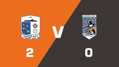 Highlights: Barrow vs Maidenhead United