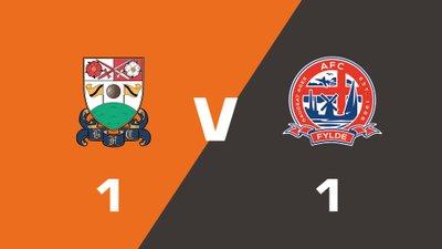 Highlights: Barnet vs AFC Fylde