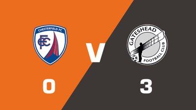 Highlights: Chesterfield vs Gateshead