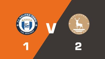 Highlights: FC Halifax Town vs Hartlepool United
