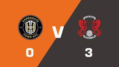 Highlights: Harrogate Town vs Leyton Orient
