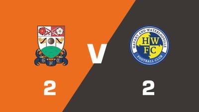 Highlights: Barnet vs Havant & Waterlooville