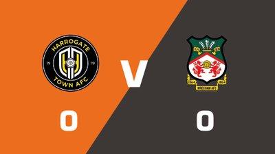 Highlights: Harrogate Town vs Wrexham