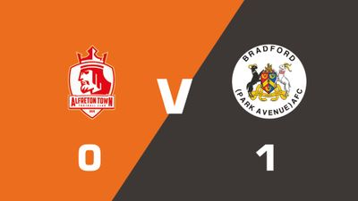 Highlights: Alfreton Town vs Bradford Park Avenue