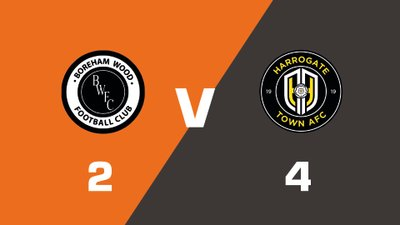 Highlights: Boreham Wood vs Harrogate Town