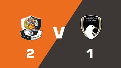 Highlights: Dartford vs Weston-super-Mare AFC