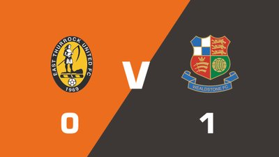 Highlights: East Thurrock United vs Wealdstone