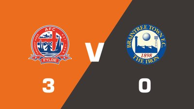 Highlights: AFC Fylde vs Braintree Town