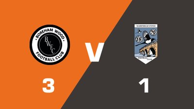 Highlights: Boreham Wood vs Maidenhead United