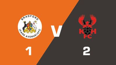Highlights: Bradford (Park Avenue) vs Kidderminster Harriers