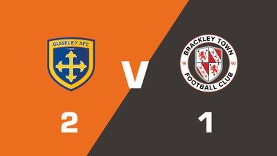 Highlights: Guiseley vs Brackley Town