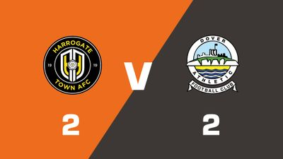 Highlights: Harrogate Town vs Dover Athletic