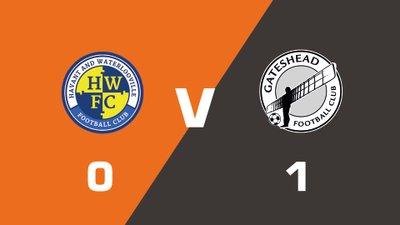 Highlights: Havant & Waterlooville vs Gateshead