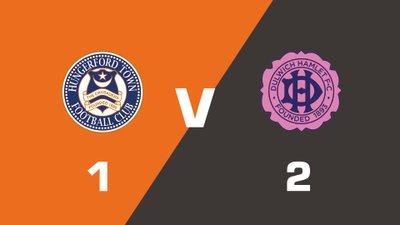 Highlights: Hungerford Town vs Dulwich Hamlet