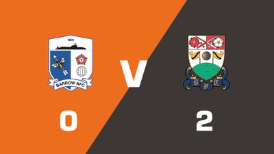 Highlights: Barrow vs Barnet