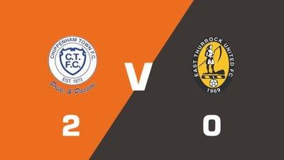 Highlights: Chippenham Town vs East Thurrock United