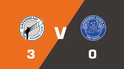 Highlights: Gateshead vs Aldershot Town