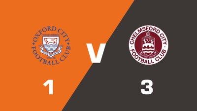 Highlights: Oxford City vs Chelmsford City