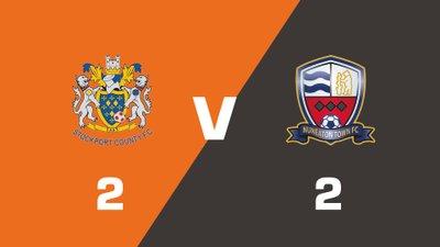 Highlights: Stockport County vs Nuneaton Borough
