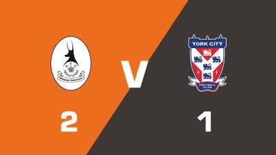 Highlights: AFC Telford United vs York City