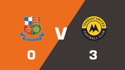 Highlights: Wealdstone vs Torquay United