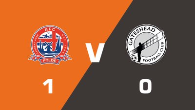 Highlights: AFC Fylde vs Gateshead
