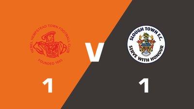 Highlights: Hemel Hempstead Town vs Slough Town