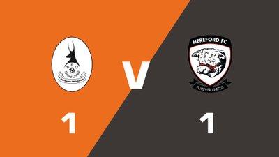 Highlights: AFC Telford United vs Hereford