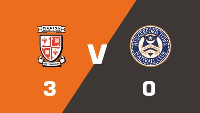 Highlights: Woking vs Hungerford Town
