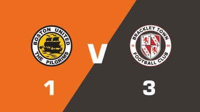 Highlights: Boston United vs Brackley Town