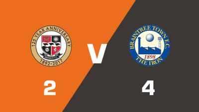 Highlights: Bromley vs Braintree Town