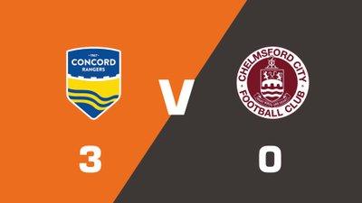 Highlights: Concord Rangers vs Chelmsford City