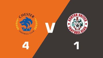 Highlights: Chester vs Ashton United