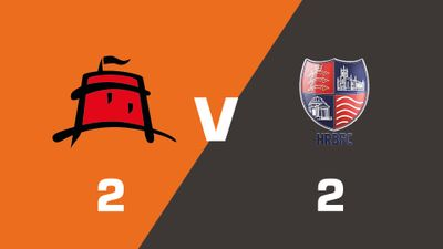 Highlights: Eastbourne Borough vs Hampton & Richmond Borough
