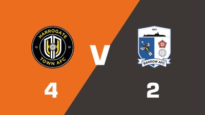 Highlights: Harrogate Town vs Barrow